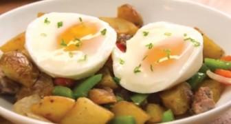 Um truque para cozinhar ovos na camisa em modo veloz e infalível