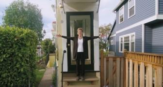 Ein 1 Meter langes Haus...oder wenig mehr. Die listige Rache einer Frau in ihrem Exmann