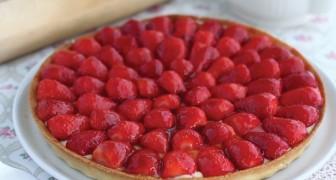 Torta a la frutilla: asi de facil y veloz que no lo hayan nunca probado!