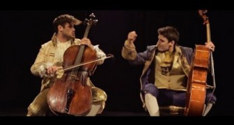 Extraordinary version of Thunderstruck with cellos