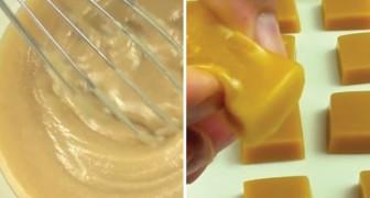 Caramelle gommose fatte in casa: ecco la ricetta per gustare questa delizia al caramello