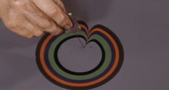 O efeito marmorizado dos anos 70: veja como eram criadas aquelas tramas características