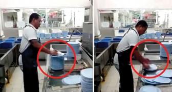 Detestas lavar los platos? Aprende del hombre mas veloz del mundo...