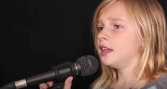 Ze is pas 11 jaar oud, maar haar interpretatie van dit beroemde nummer van Simon & Garfunkel is indrukwekkend!