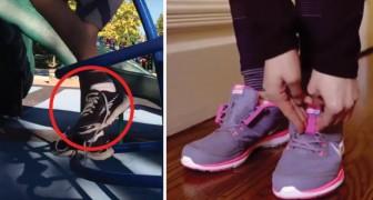 Infila e sfila la scarpa con un semplice gesto: questo dispositivo è sicuro e... Geniale!