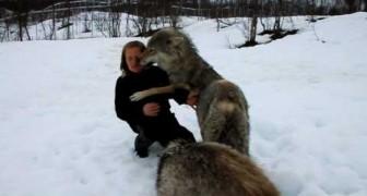 L'incontro tra Anita e i Lupi
