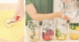 Increase your daily fluid intake with cool and tasty infused water!
