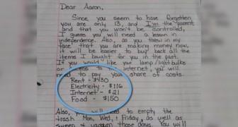 Der Sohn stellt sich arrogant und beleidigt seine Mutter: Sie schreibt ihm diesen Brief, der um die Welt geht