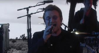En av deras bästa låtar fyller 30 år: U2 sjunger och blir fortfarande känslomässiga