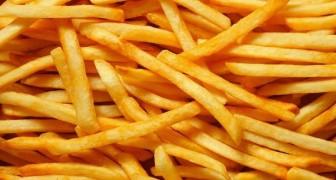 Friet eten verdubbelt de kans op een vroege dood