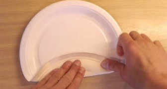 Como transformar um simples prato de papel em uma caixa!