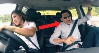 Eine Pilotin gibt sich als unerfahrene Autoverkäuferin aus: für den Kunden eine UNVERGESSLICHE Probefahrt!