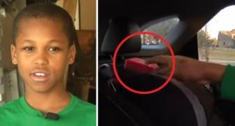 A filha dos vizinhos morreu porque foi deixada no carro: com 10 anos ele inventa um dispositivo que pode salvar vidas