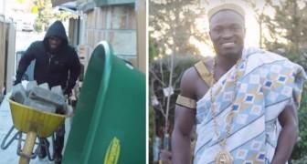 Au Canada, c'est un jardinier, mais au Ghana c'est un roi: l'histoire de cet homme est une source d'inspiration