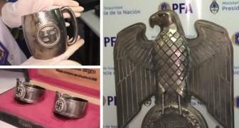 Retrouvée dans une pièce secrète en Argentine une immense collection d'artefacts nazis