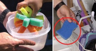 Esponjas de cocina: aqui 6 modos en la cual no la habias nunca usado antes