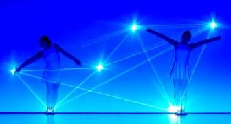 Performance entre danse et lumière