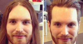 Ecco degli uomini che sono diventati MOLTO più attraenti dopo un semplice taglio di capelli