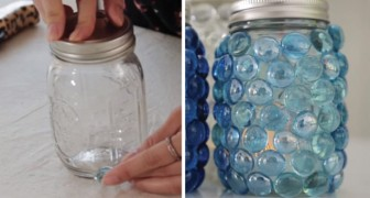 Beaded Mason Jar Ambient lanterns!