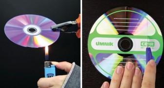 Du wolltest nicht gebrauchte CDs wegwerfen? Nach diesem Video wirst du es dir anders überlegen