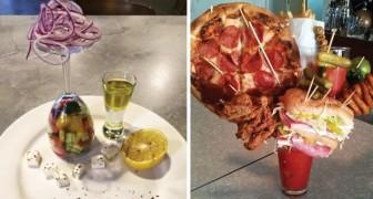 Certains restaurateurs qui ont présenté leurs plats d'une manière pour le moins COURAGEUSE