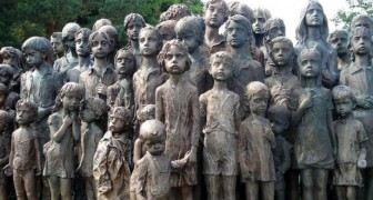 Het trieste verhaal van de kinderen van Lidice ontroert iedereen die hen in de ogen kijkt.