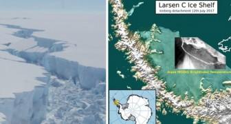 Eine der größten Eisschollen der Antarktis hat sich gelöst: Experten haben kaum einen Zweifel über die Ursache