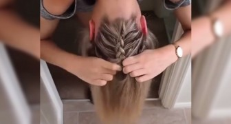 A fantastic hairstyle for long hair --- in only five minutes!