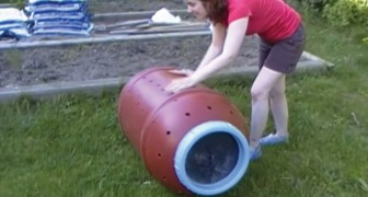 Ecco un'idea per realizzare una compostiera economica e comoda per il giardino