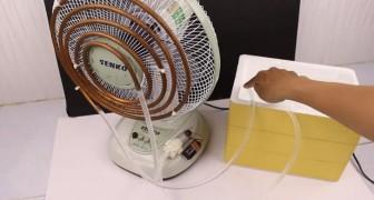 Impara come raffreddare la casa con un comune ventilatore senza spendere una fortuna