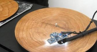 Trasforma gli alberi in musica: ascoltate il suono magnifico di questi dischi di legno