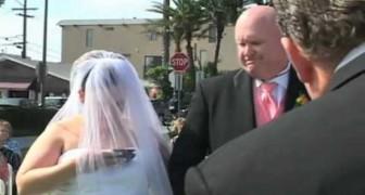 Non riuscirete a credere a ciò che fa questa sposa DURANTE il suo matrimonio