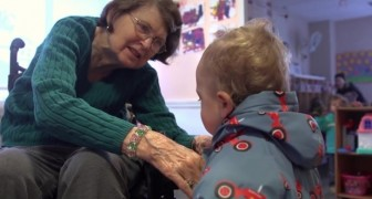 Une école maternelle dans une maison de retraite: les résultats de cette expérience sont incroyables