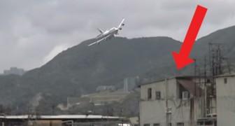 Quand les avions à Hong Kong effleuraient les maisons à l'atterrissage: voici la dangereuse piste aujourd'hui fermée