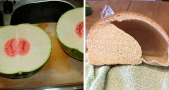 20 foto's gemaakt door mensen die diep teleurgesteld waren in hun eten