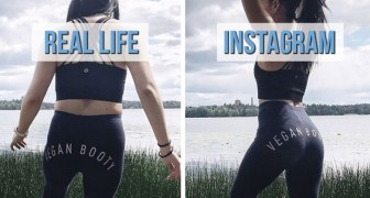 Deze blogster onthult de waarheid over foto's die op Instagram staan