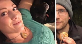 Indossa ogni giorno la collana fatta dal fidanzato: 1 anno dopo scopre che custodiva qualcosa