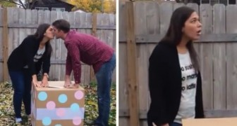 A Baby Gender Balloon Reveal SURPRISE! ;D