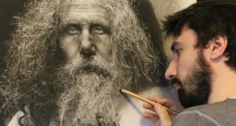 Tausende an Stunden für ein Bild: Seine hyperrealistischen Werke sind fesselnd