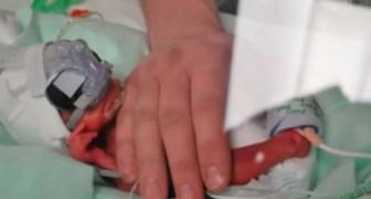 Een verpleegster zorgde voor hun te vroeg geboren baby: 4 jaar later bedanken de ouders haar zo