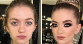 16 foto prima e dopo che mostrano tutto il potere del make up