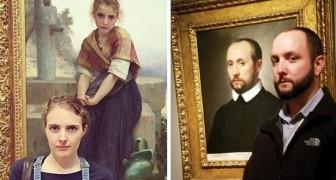 22 Fälle, in denen Personen ihrem eigenen Doppelgänger in einem Museum begegnet sind