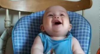 As melhores risadas de bebês