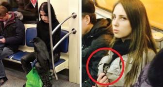 Algumas das cenas mais absurdas que aconteceram no metrô!