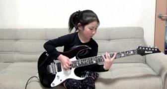 Rock-Chic mit gerade mal acht Jahren