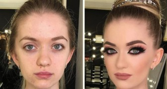 See what cosmetics and makeup can do! WoW!