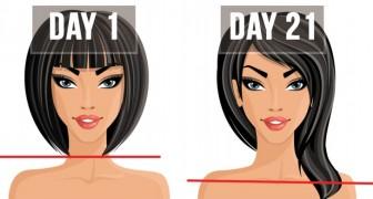 7 cibi che hai bisogno di mangiare per far crescere i capelli più in fretta