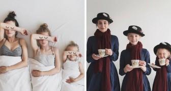 Cette maman s'habille pareil que ses filles: leur sympathie a fait le tour du web