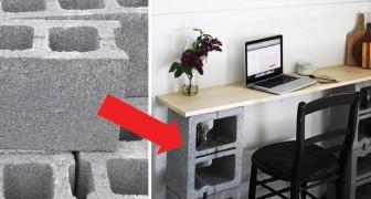 14 Einrichtungsideen, die aus einfachen Betonblöcken gemacht sind. Ihr werdet überrascht sein!