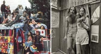 Das Leben der Hippie-Bewegung in den 60er Jahren: in 14 Fotografien dargestellt